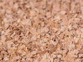 Wheat bran fiber food ingredients Stock Images