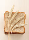 Wheat bread Royalty Free Stock Images