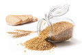 Wheat Bread And Wheat Grains Royalty Free Stock Photo