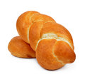 Wheat buns Stock Images