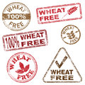 Wheat Free Stamps Stock Photography
