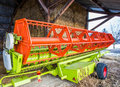 Wheat Harvester III Royalty Free Stock Photo