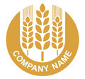 Wheat logo Royalty Free Stock Photography