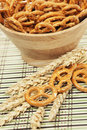 Wheat pretzels Royalty Free Stock Photo