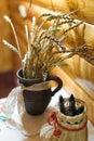 Wheat stalks Royalty Free Stock Photo