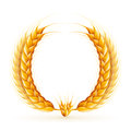 Wheat Wreath Royalty Free Stock Photo
