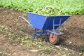Wheel Barrow Royalty Free Stock Images