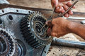 Wheel bearings Royalty Free Stock Photo
