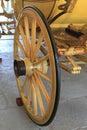 Wheel carriage Royalty Free Stock Photo