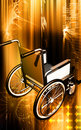 Wheel chair Royalty Free Stock Images