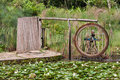 Wheel Fountain Botanical Garden Sao Paulo Royalty Free Stock Image