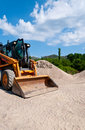 Wheel loader Royalty Free Stock Image