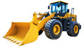 Wheel loader excavator Royalty Free Stock Photo