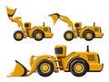 Wheel loader set