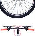 Wheel mountain bike Royalty Free Stock Photo