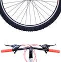 Wheel mountain bike Royalty Free Stock Photo
