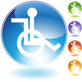 Wheelchair Icon Royalty Free Stock Image