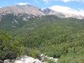Wheeler Peak in the Great Basin National Park, Nevada Royalty Free Stock Photo
