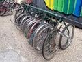 Wheels bicycle Royalty Free Stock Photo