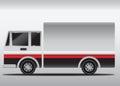 4 wheels gradient cargo truck