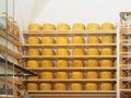 Wheels Parmesan Cheese Royalty Free Stock Photo