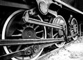 The wheels of a steam locomotive Royalty Free Stock Photo