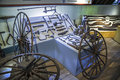 The Wheelwright Shop in Farmers' Museum Royalty Free Stock Photo
