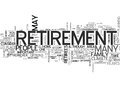 Where To Live When You Retire Word Cloud