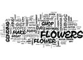 Where To Send Flowers From In The Uk Word Cloud