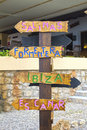 Which direction you need to take in Ibiza?