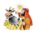 Whipping boy Judaism animal desert symbol sin