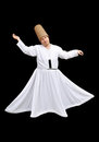 Whirling dervish Stock Images