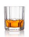 Whiskey scotch on a white background Stock Images