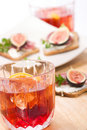 Whiskey with soda Royalty Free Stock Photography