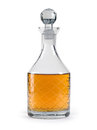 Whisky decanter Royalty Free Stock Photo