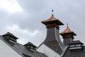 Whisky distillery pagoda Royalty Free Stock Photo