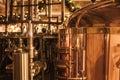 Whisky production. Royalty Free Stock Photo