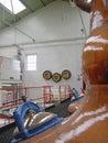 Whisky Stills Royalty Free Stock Photo