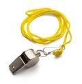 Whistle Royalty Free Stock Photo