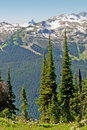 Whistler and Black Tusk Stock Photography