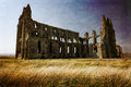 Whitby Abbey. Royalty Free Stock Photo