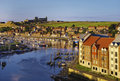 Whitby eskflodtown Royaltyfri Foto