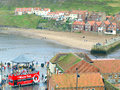 Whitby north yorkshire Images stock