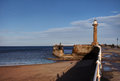 Whitby Pier Royalty Free Stock Photos