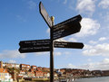 Whitby Signpost