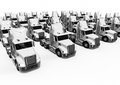 White American trucks fleet