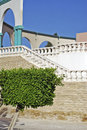White amphitheater beautiful decorative arch Stock Photos