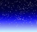 White asterisk star luminous Royalty Free Stock Photo