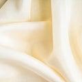 White background cloth wavy folds textile texture Royalty Free Stock Photo