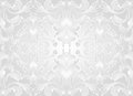 White background and gray with floral abstract ornaments seamless Stock Photography